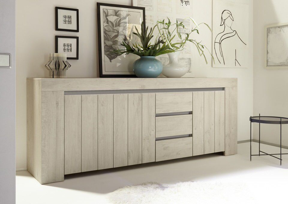 Licht Eiken Dressoir : Trendy dressoir in licht eiken kopen meubeldeals