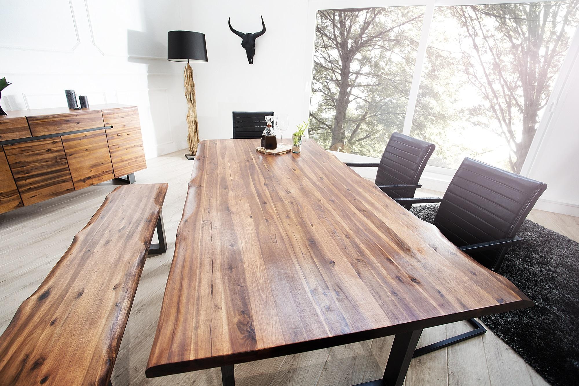 Tafel Van Boomstam : Kolomtafel meubeldeals.nl