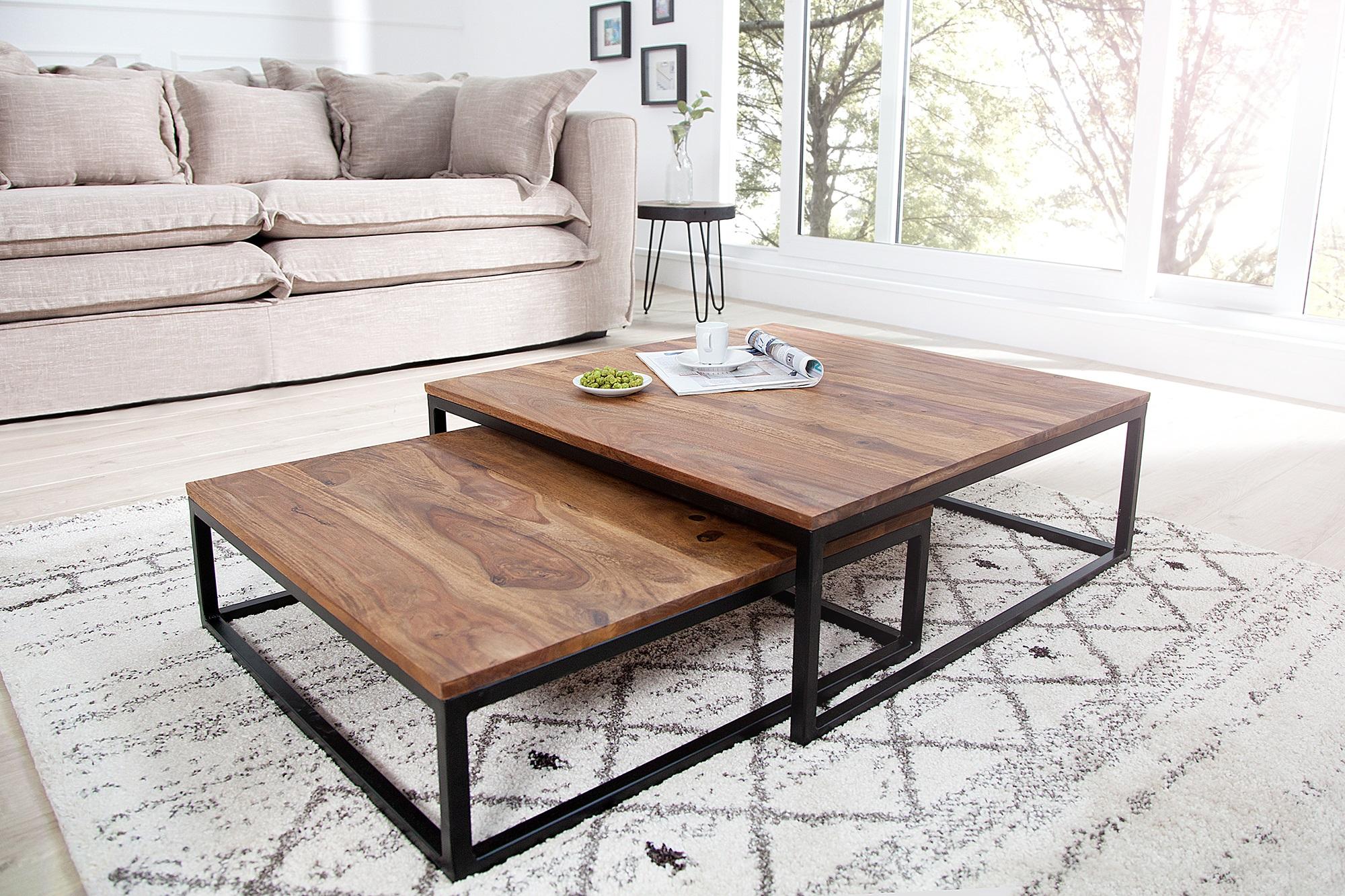 Salontafel set kopen meubel betaalbare meubelen for Salontafel rond design