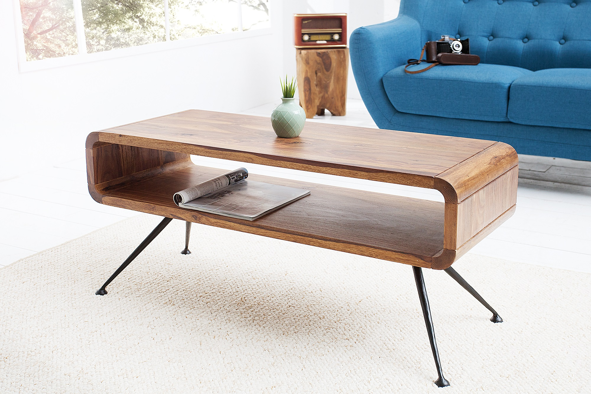 Salon Tafel Hout : Retro salontafel kopen meubeldeals