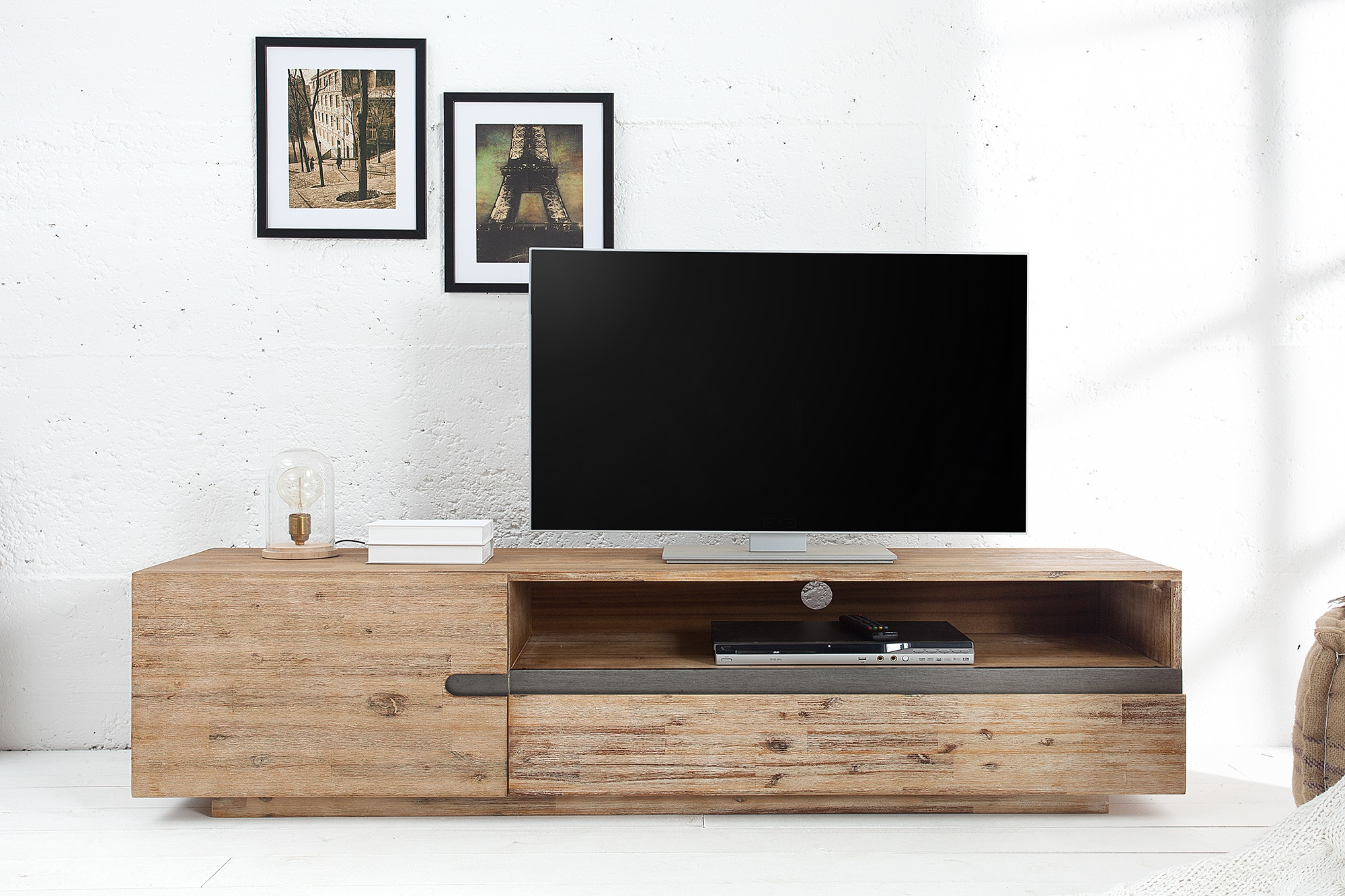 Tv meubel teak grijs kopen meubeldeals.nl