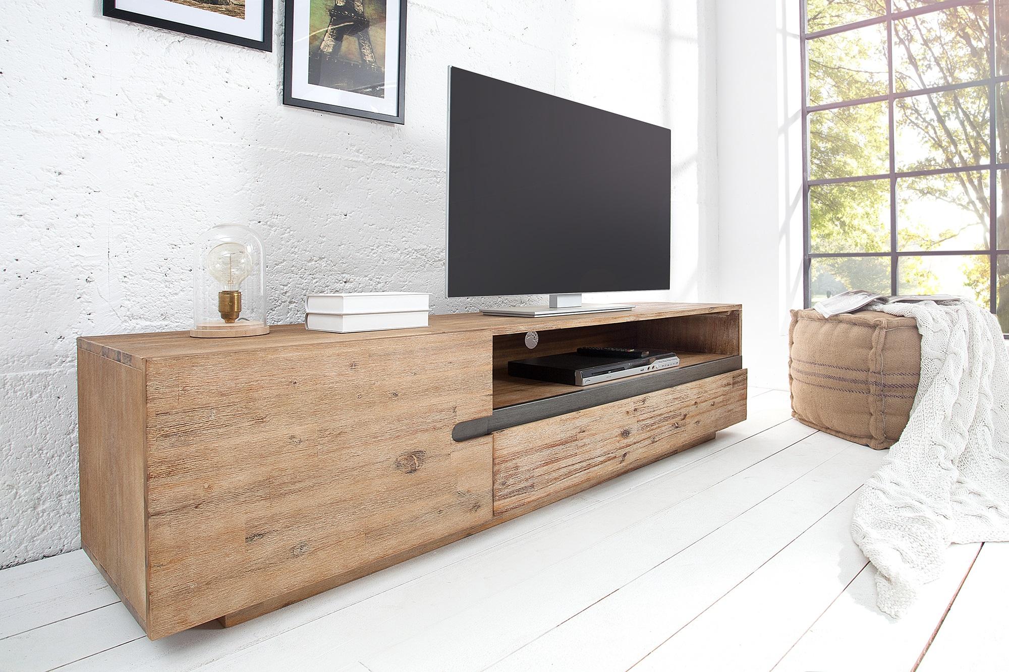 Tv Meubel Teakhout : Tv meubel teak grijs kopen meubeldeals