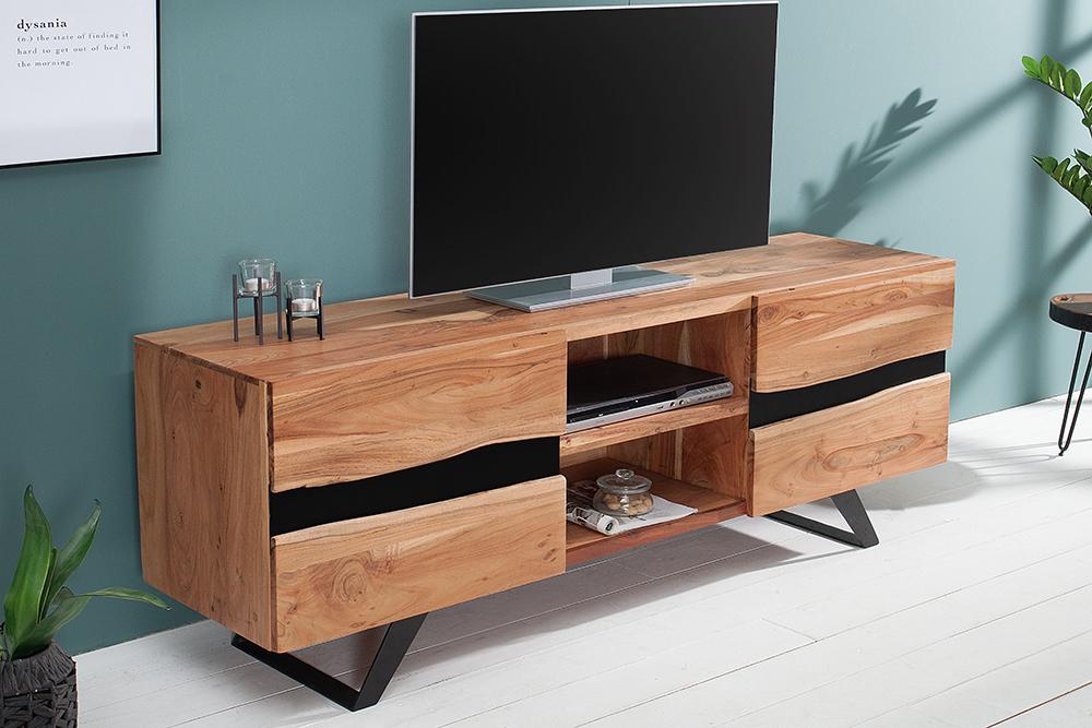 Luxe Tv Meubel : Luxe tv meubel massief hout kopen meubeldeals