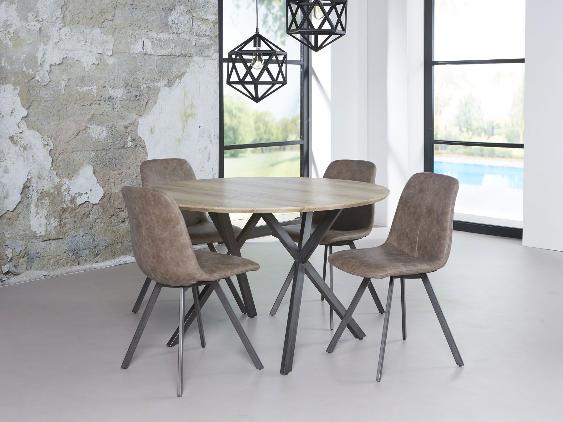 Moderne Ronde Eettafel.Moderne Ronde Tafel Kopen Meubeldeals Nl