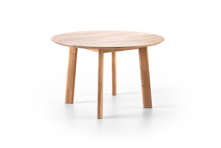 Ronde tafel massief eiken kopen meubeldeals