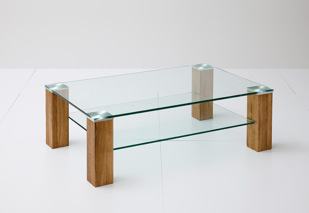 Salontafel helder glas meubeldeals
