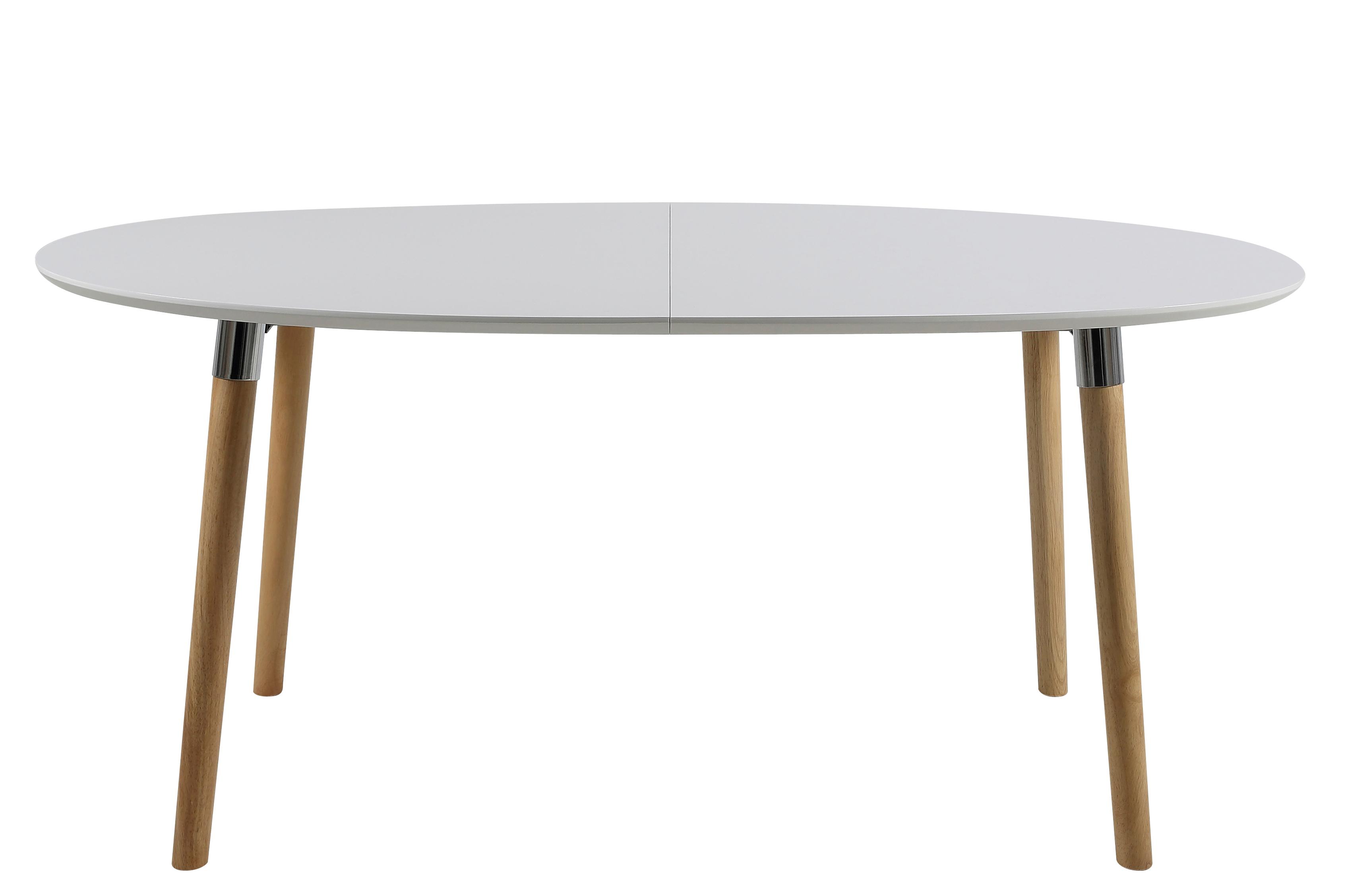 Ovalen Witte Eettafel.Ovale Eettafel Uitschuifbaar Meubel Deals Nl