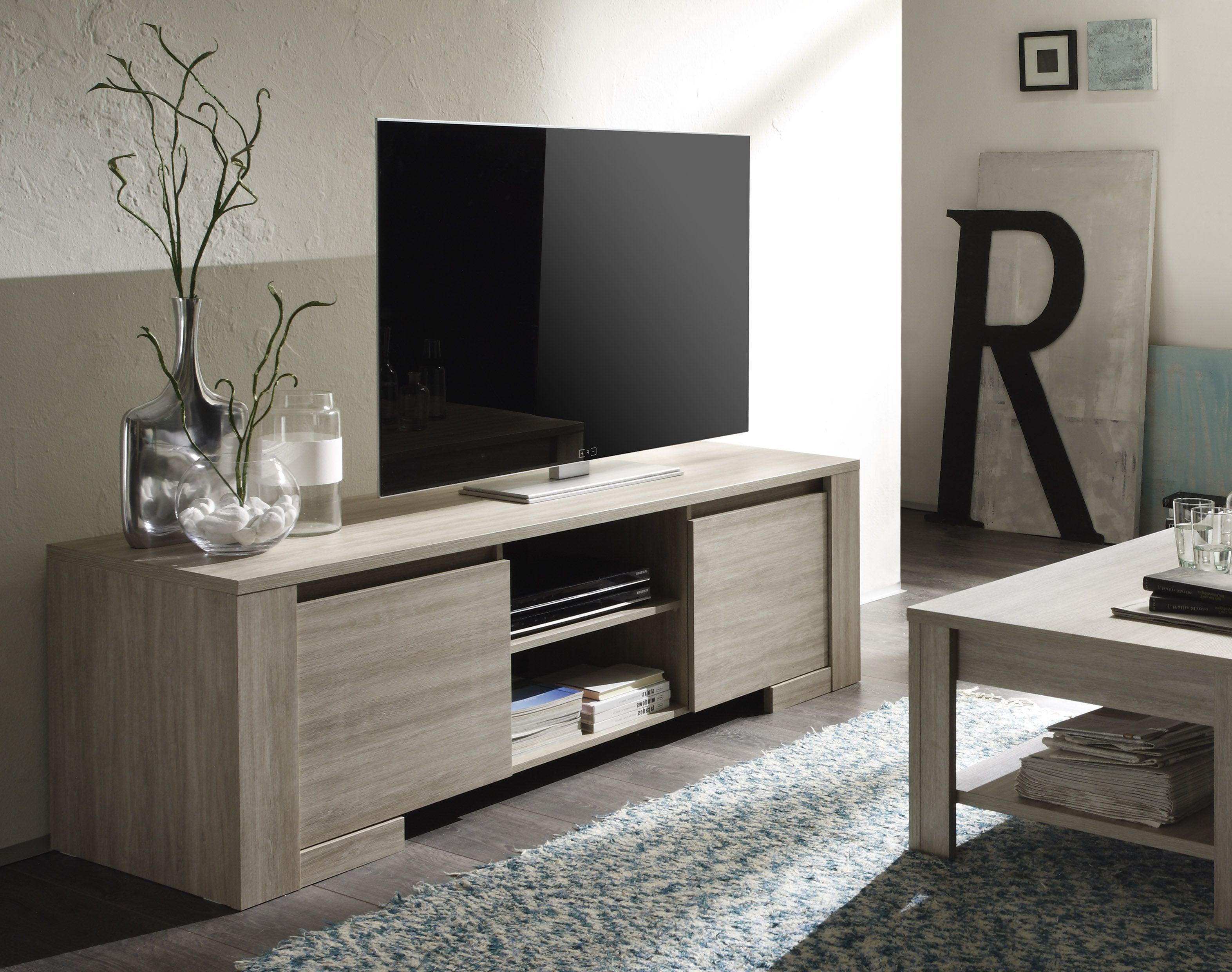 Eiken kleurig tv meubel kopen meubeldeals.nl