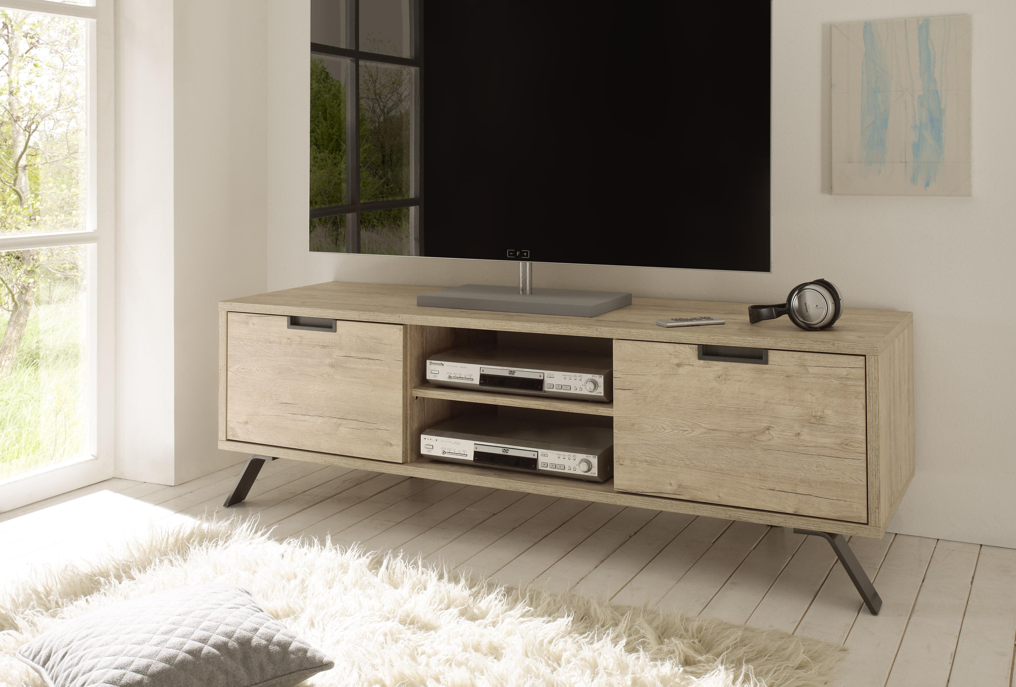 Tv Meubel Design Eiken.Eiken Kleurige Tv Meubels Kopen Meubeldeals Nl