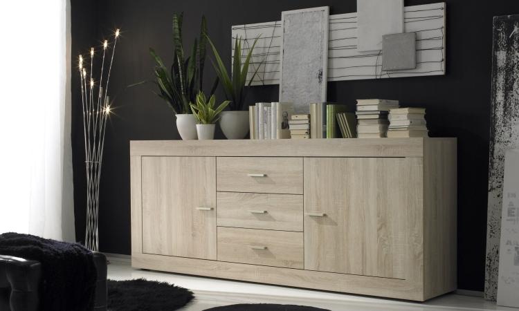 Licht Eiken Meubelen : Dressoir rustiek eiken kopen meubeldeals