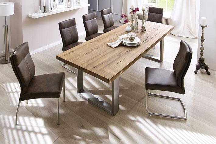 Massief Houten Tafel : Massief houten tafel meubeldeals
