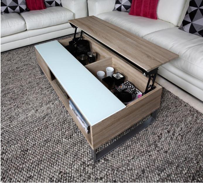 Hedendaags Multifunctionele salontafel met lift | Meubeldeals.nl MH-44