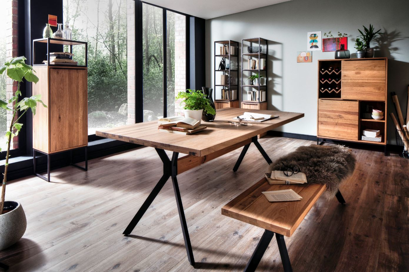 highboard kast wild eiken