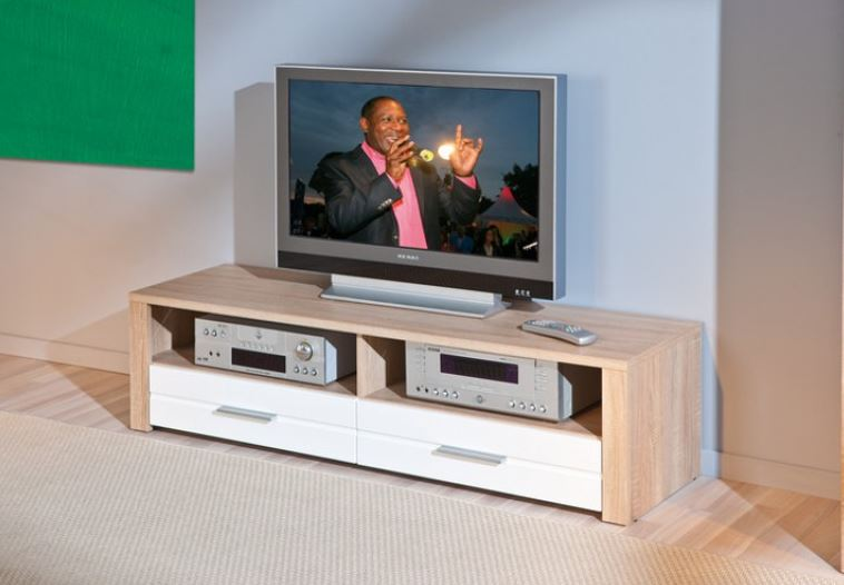 Moderne Tv Meubel : ≥ modern tv meubel van teakhout cm breed indoteak kasten