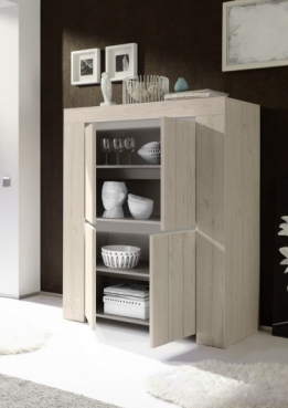 highboard kast licht eiken