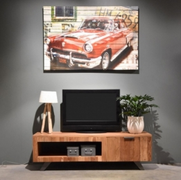 tv meubel massief hout
