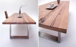 Massief Houten Tafel : Houten eettafel great welke kleur krijgt de eiken houten eettafel